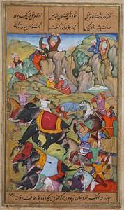 Persians-fighting-India