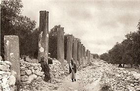 Samaria-ruins