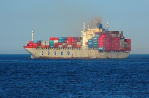 Chinese-COSCO_Freighter